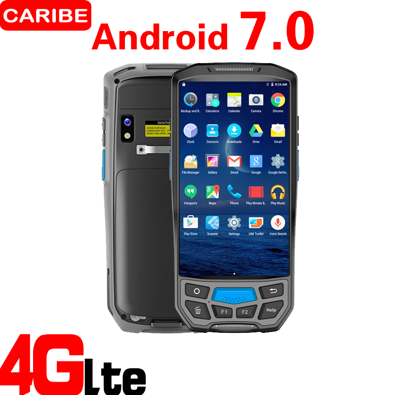 CARIBE PL 50L RFID 2D barcode scanner rugged handheld mobile portable PDA