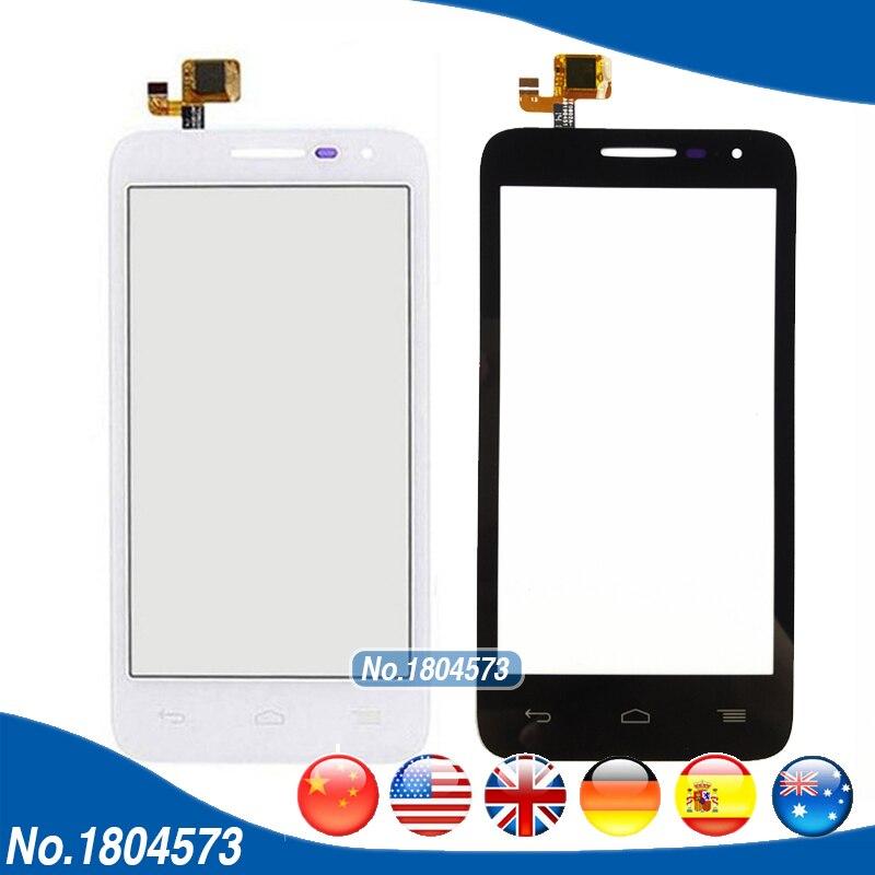 4.5 écran tactile Pour Alcatel One Touch POP D5 5038 5038D 5038E 5038X OT5038 Écran Tactile Digitizer Façade En Verre + Bande 1 PC