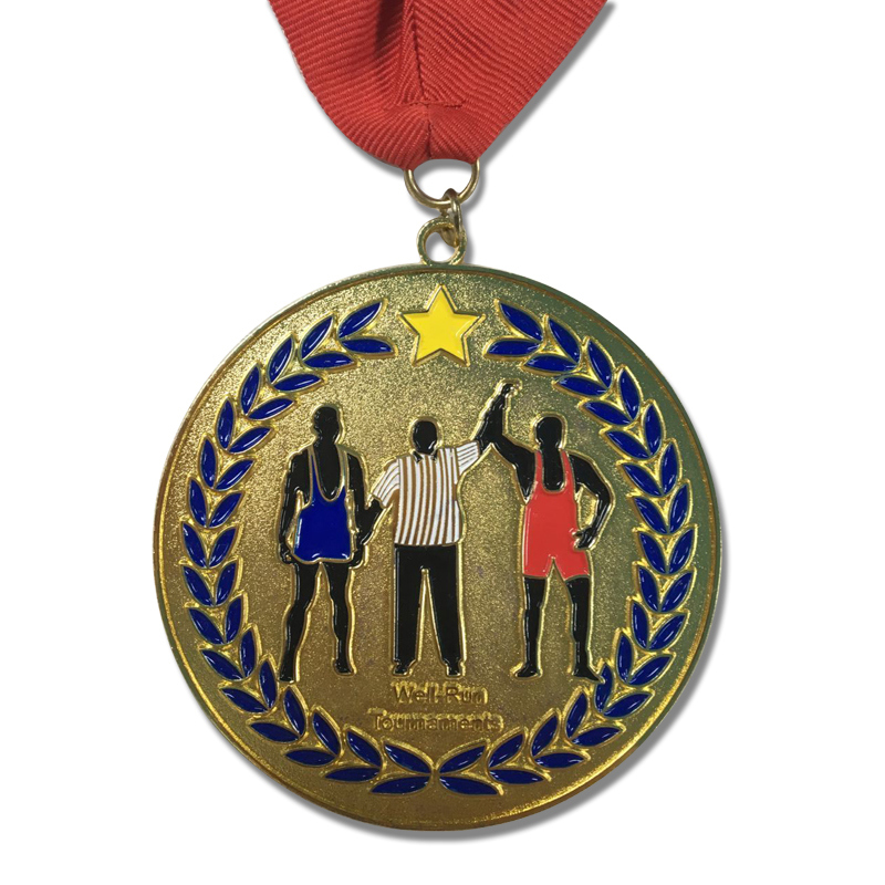 of custom medal award gold medallion sport provide ironman