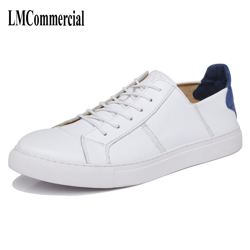 Spring men leather shoes lace round color leisure sports shoes all-match Korean Students breathable sneaker fashion the spring and summer men casual shoes men leather lace shoes soled breathable sneaker lightweight british black shoes men