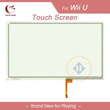 HOTHINK 5pcs/lot Digitizer Glass Panel Touch Screen For WII U Gamepad WIIU controller