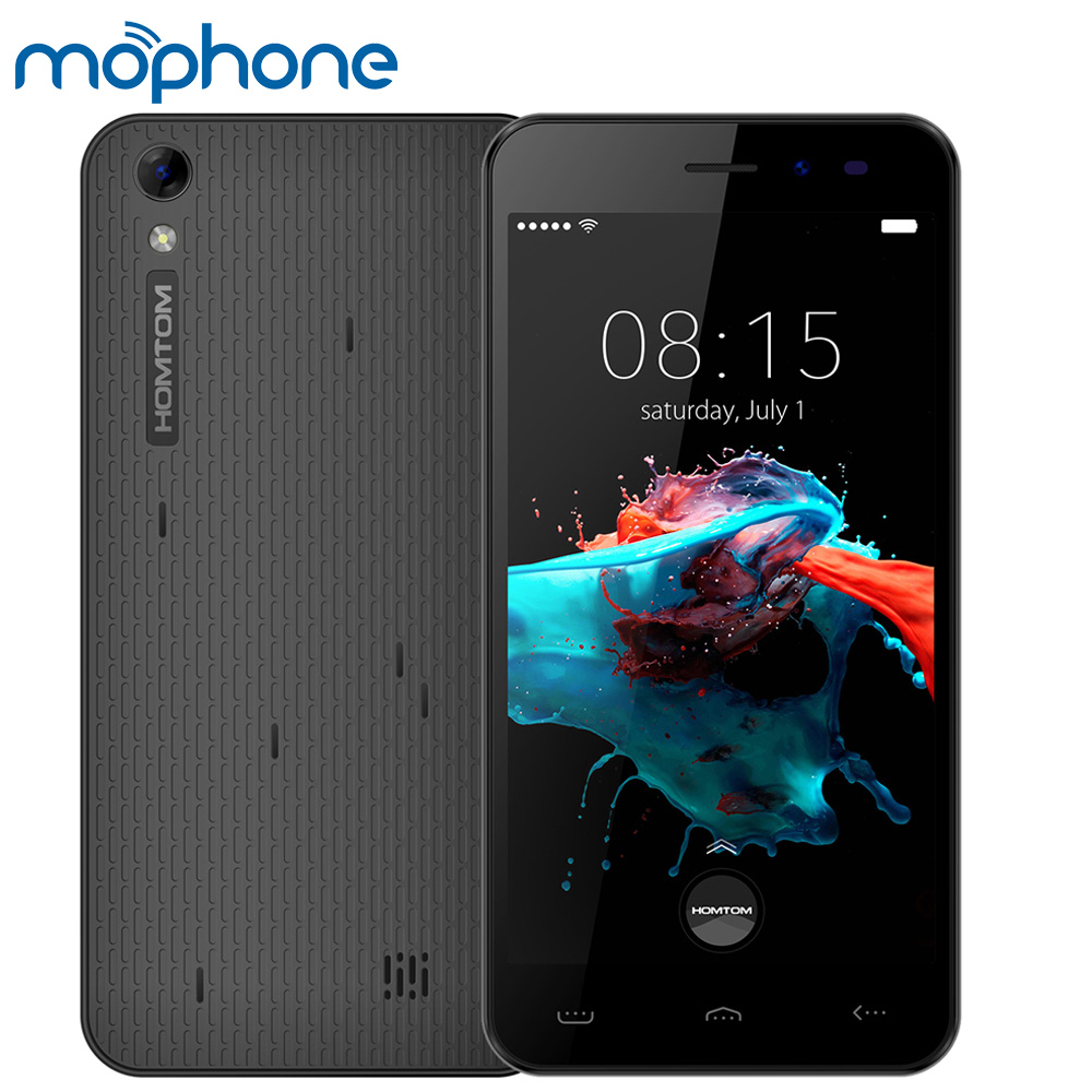 "Цена за Homtom mtk6580 ht16 смартфон 3 г wcdma android 6.0 quad core 5.0 ""экран 1 ГБ + 8 ГБ 8MP Две Камеры Смарт Жесты Мобильного Телефона"