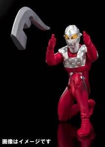 Image 5 - Japan Anime Originele Bandai Tamashii Naties Ultra Act UltraMan Action Figure Zeven 2.0