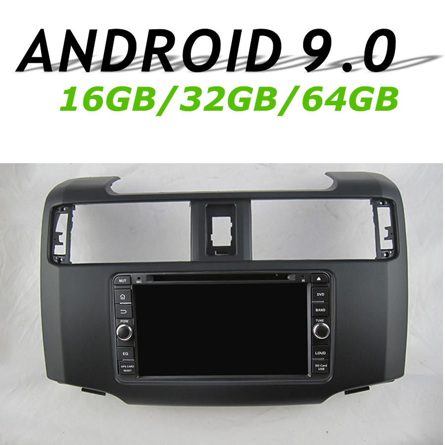 Navirider GPS Navigation Headunit For <font><b>2012</b></font> <font><b>TOYOTA</b></font> <font><b>4RUNNER</b></font> touch Screen Car android 9.0 8core 64gb rom radio bluetooth player image
