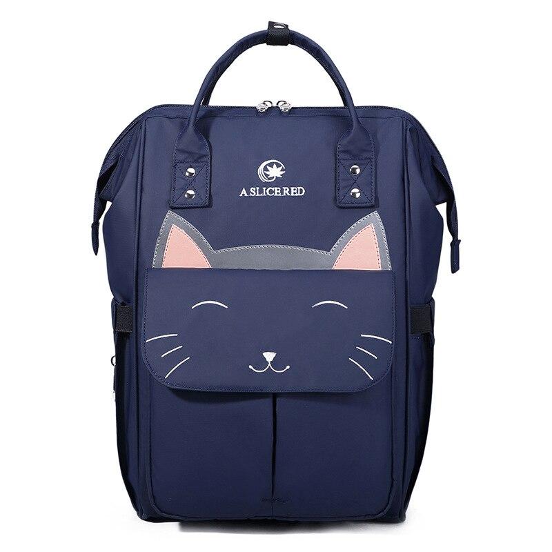 Fashion Cat Mummy Maternity Nappy Bag Brand Large Capacity Baby Bag Travel Backpack Designer Nursing Bag