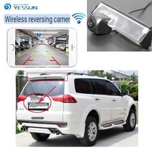 YESSUN car new hd wireless rear camera for Mitsubishi Montero Sport 2008~2015 Nativa