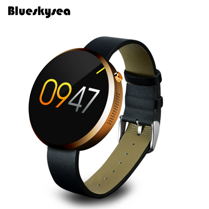 Blueskysea DM360 Heart Rate Monitor DM360 Waterproof Bluetooth Smart Watch For IOS Android System Gold  бетоносмеситель herz dm 360