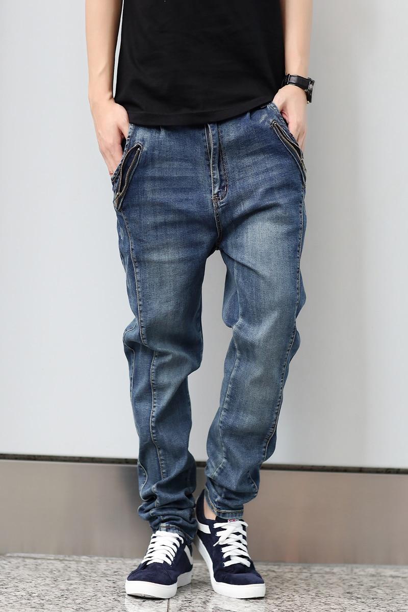 Aliexpress.com : Buy Men's blue slim biker jeans Male fashion ...