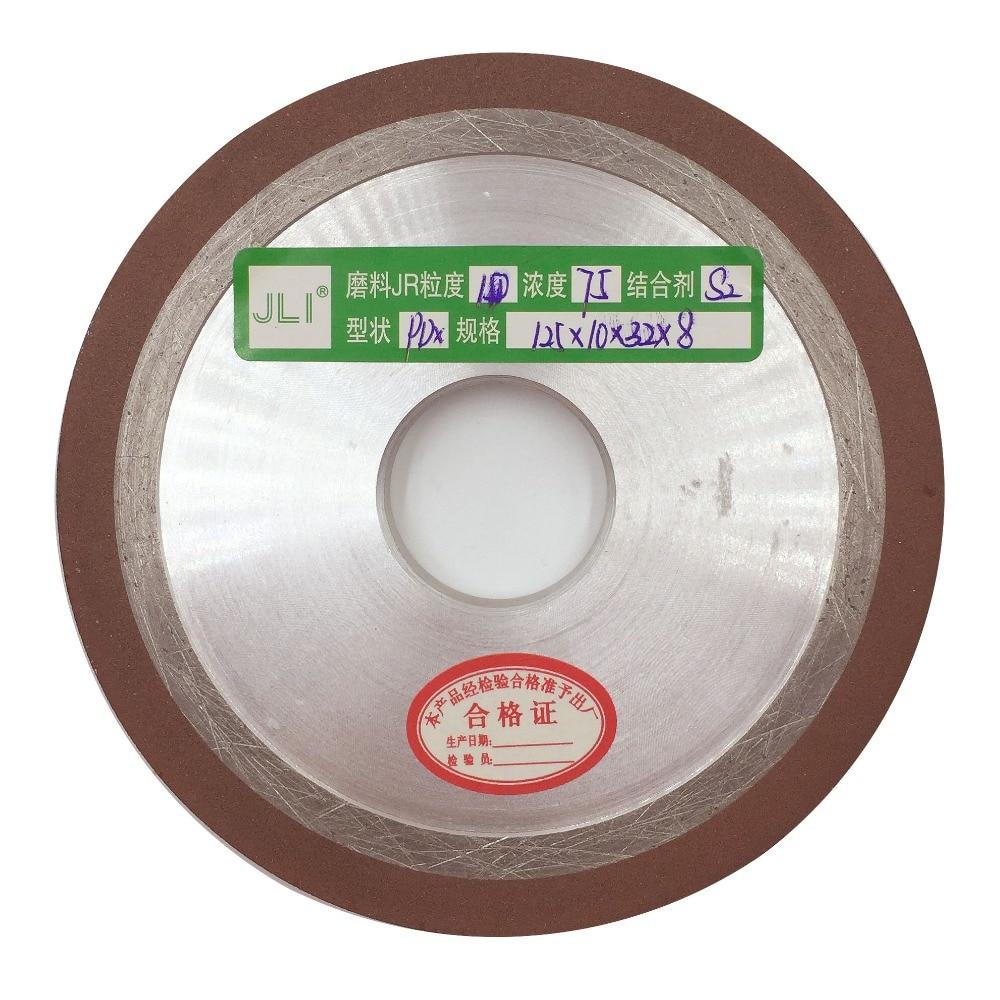 JLI 1 Pcs 125*10*32*8mm Degree Diamond Wheel Cutting Electroplated Saw Blade Grinding Wheels Disc Grain Fineness Rotary Tools