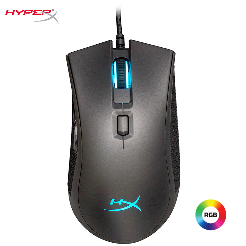 Kingston HyperX gaming mouse Pulsefire FPS Pro DPI 16000 RGB Lighting Wired professional gamer Mouse Pixart