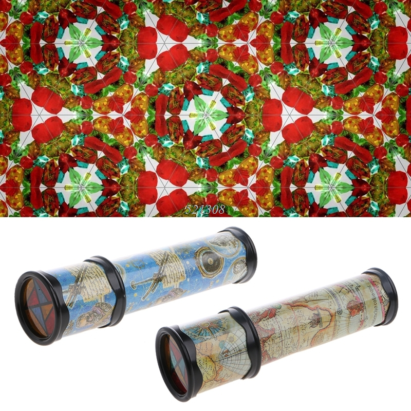 21cm Rotation Cute Classic Colorful Kaleidoscope Kids Fancy early Childhood Toys For Baby Children Gift MAY18_35