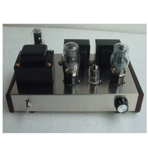 NEW Class A Single Ended 6N1+6P3P Tube Audio Amplifier HIFI Valve Amp DIY Kit ZJ brand new appj pa1502a valve tube headphone earphone amplifier class a 6n4 6p6p black vintage hifi audio