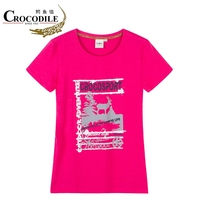 Crocosport Women Running T shirt 2018 Summer Fast Dry Short Sleeve Shirt For Female Breath Jogging Women Exercise Fitness Tops
