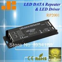 Free Shipping LED DATA REPEATER AND LED DRIVER 3 Channels Amplifier Constant Voltage DC12 24V SINGLE