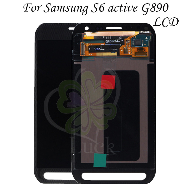 100 Tested 5 1 For Samsung Galaxy S6 active G890 G890A LCD Display Touch Screen Digitizer