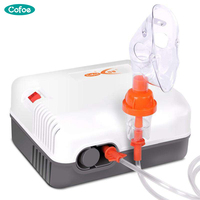 Cofoe Air Compression Nebulizer Medical Piezoelectric Inhalation Therapy Nebulizer For Children Baby Steaming Device