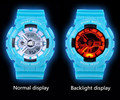 New style Men's sports watch Fashion Outdoor Shockproof Digital Wristwatch LED Watch navy military watches 2pcs/lot Free ship