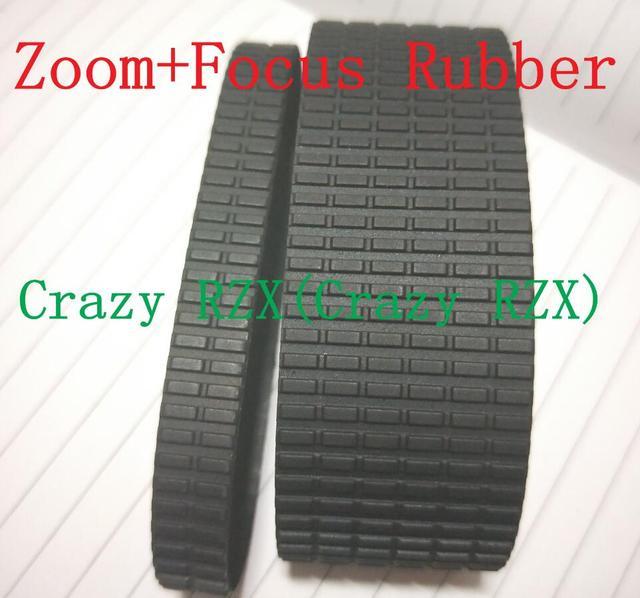 جديد عدسة حقيقية التكبير + التركيز قبضة المطاط حلقة استبدال ل Coatings الطلاءات SP 24 70 24 70 ملليمتر f/2.8 دي VC USD A007 إصلاح جزء