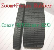 Novo zoom genuíno + aderência de foco, anel de borracha de substituição para tamron sp 24 70mm peça de reparo f/2.8 di