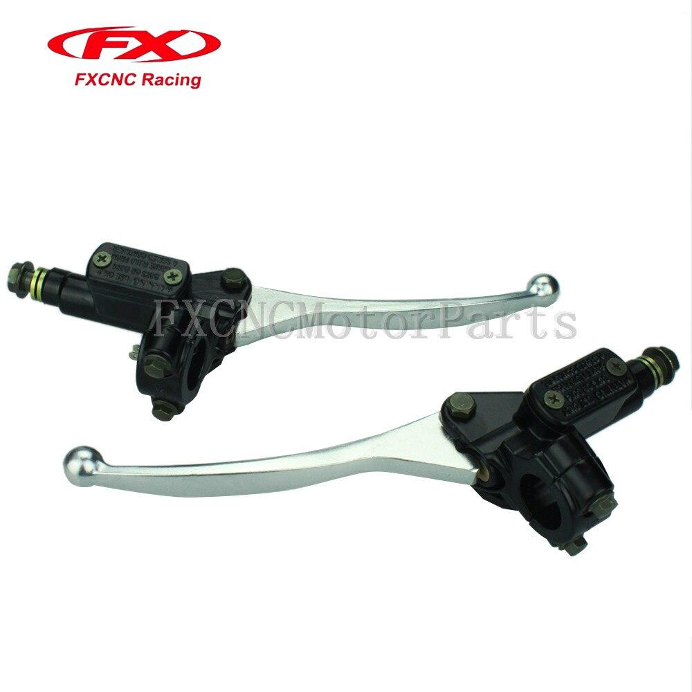 Universal Hydraulic Control Lever Cable : Universal motorcycle bike handlebar hydraulic brake clutch