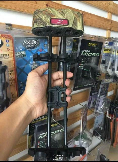 1pcs/lot Octane Bowtech Deadlock 5 Arrow Archery Quiver Compound Bow Quiver Hunting Shooting