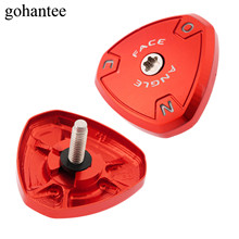 Red 1pc Adjustment Golf Shafts Sole Plate with Screw / Washer and Sponge Pad Fits for R11 Driver Aluminium Alloy