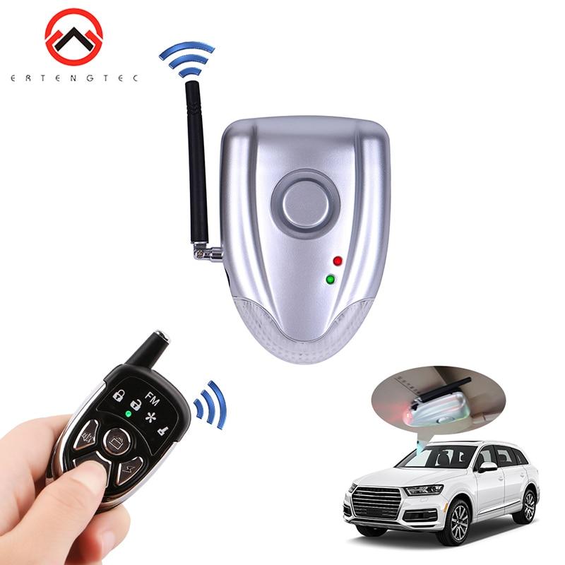 Alarme de voiture bidirectionnelle Installation facile systèmes antivol de voiture alarme de voiture Auto télécommande Set systèmes de réinitialisation d'urgence