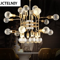 Postmodern poti droplight industrial postmodern ideas wind Nordic contracted sitting room chandeliers double hanging led lamp