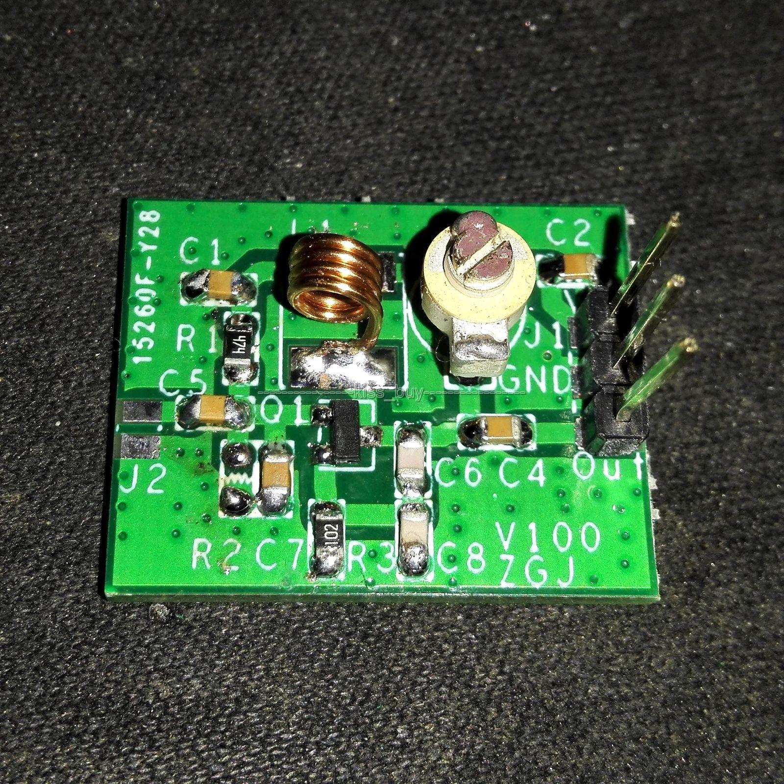 Dc 5v Bh1417f Fm Radio Transmitter Module Pll Stereo Digital Integrated Circuit Station Board 2sc9018 Oscillator Signal Source Mp3 80 120mhz Kits