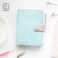 Kawaii Japanese Cute Blue A6 Traveler S Notebook Agendas 2017 Planner DIY Diary With Calender Daily