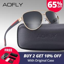 AOFLY Fashion Polarized Pilot Sunglasses Men Women Brand Designer Driving Aviation Sun Glasses For Men/Wome Vintage Shades Gafas