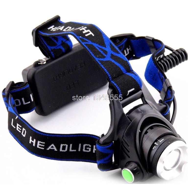 XPE Q5 LED fényszóró fejlámpa nagyítható fejlámpa lámpa - Hordozható világítás