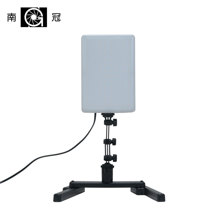 CN-T96 5600K 18W 96 PCS Studio LED Light Lamp w/ Adjustable Arm & Bracket Stand LED Photo Light Lamp Photographic Lighting CD50