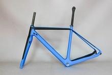 Japan Carbon Fiber Gravel Bike Frame GR029 , Bicycle GRAVEL frame factory direct sale CUSTOMIZED PAINT frame