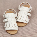 2016 Korean Princess baby fashion sandals tassel toe fish mouth shoes Children Sandals Boys Girls Summer toddler