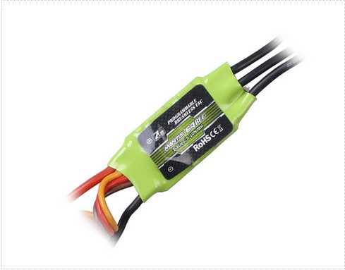 Superior Hobby AL-ZTW In Mantis series brushless ESC 6A 12A 25A 35A 45A 65A 85A ztw mantis series 45a esc electronic speed controller high quality