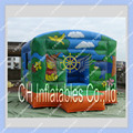 Inflatable Hand Painting Bounce House/Commercial Quality for rental business/ Inflatable Castle/can be customized