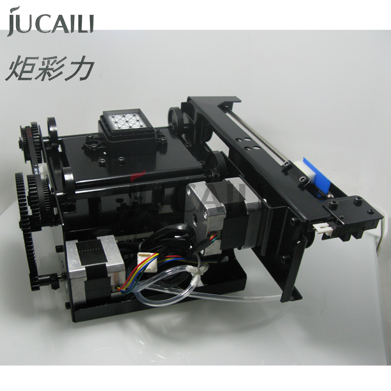 Jucaili printer cleaning station single-head 5113 dx5 dx7 xp600 4720 capping station head assembly with double motor