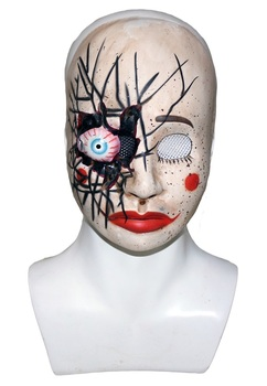 halloween carnival full face plastic scary mask