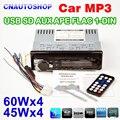 Автомобильный Радиоприемник Mp3-плеер/FM Радио Стерео Аудио Музыка USB/SD Цифровой Bluetooth В Тире Слот AUX вход
