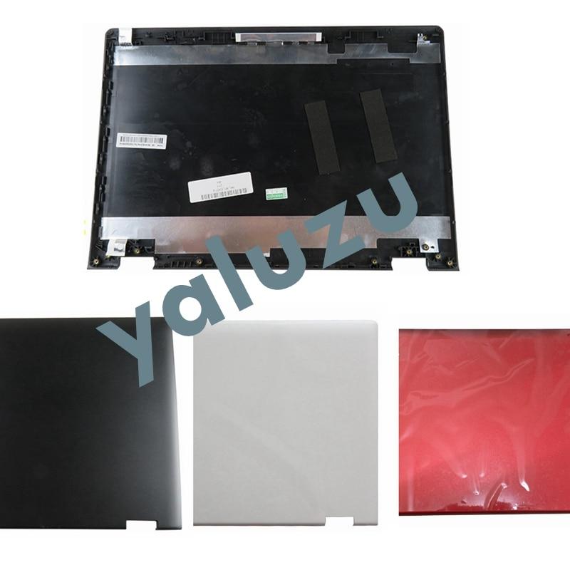 YALUZU New LCD BACK COVER FOR Lenovo Yoga 500-14 Yoga 500-14IBD Flex 3 14 Flex 3-1470 LCD top cover case white/black/RED