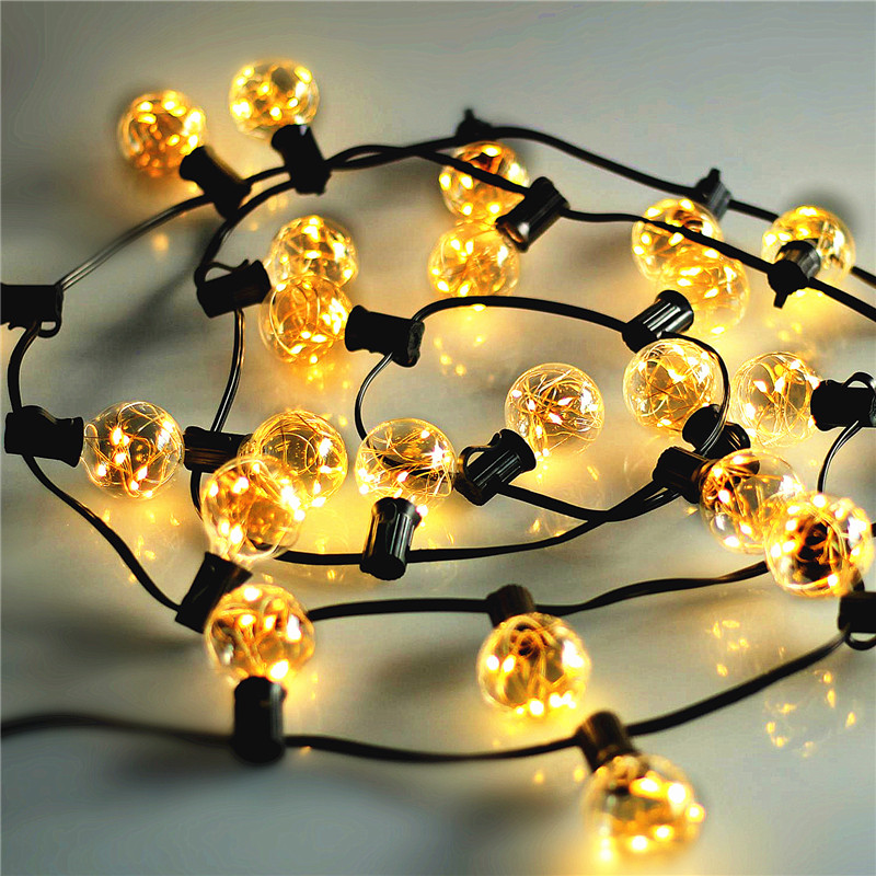 1x 5 5M 25Bulbs Christmas Led String Light Copper wire Micro String Light Garlands Outdoor Decorative