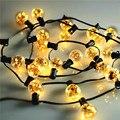1x5.5 M 25 Lâmpadas Led de Natal Seqüência de Luz fio de Cobre Micro Luz Cordas Guirlandas, Rua Cordas Decorativa ao ar livre