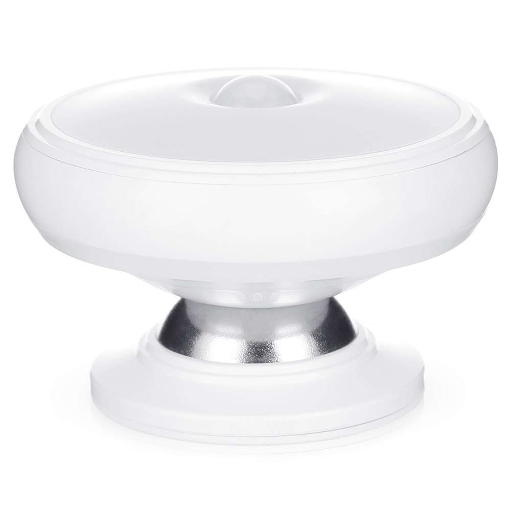 360 Degree Rotating Led Motion Sensor Wall Night Light Aaa