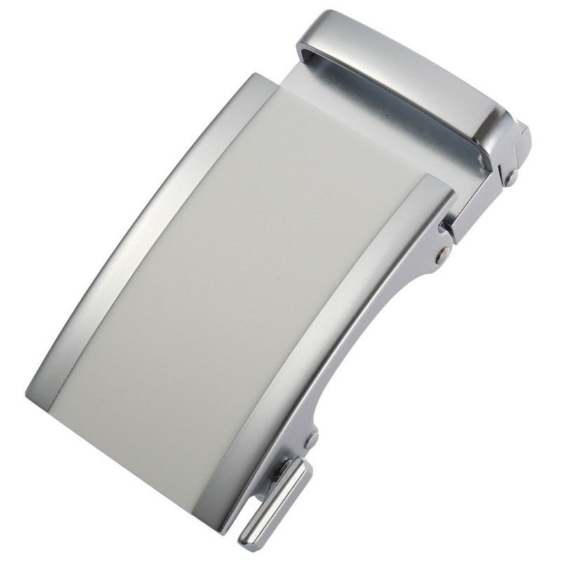 Men Metal Automatic Buckle For 3.5cm Ratchet Men Apparel Accessories Belt Buckles Luxury Fashion No Belt LY136-22050