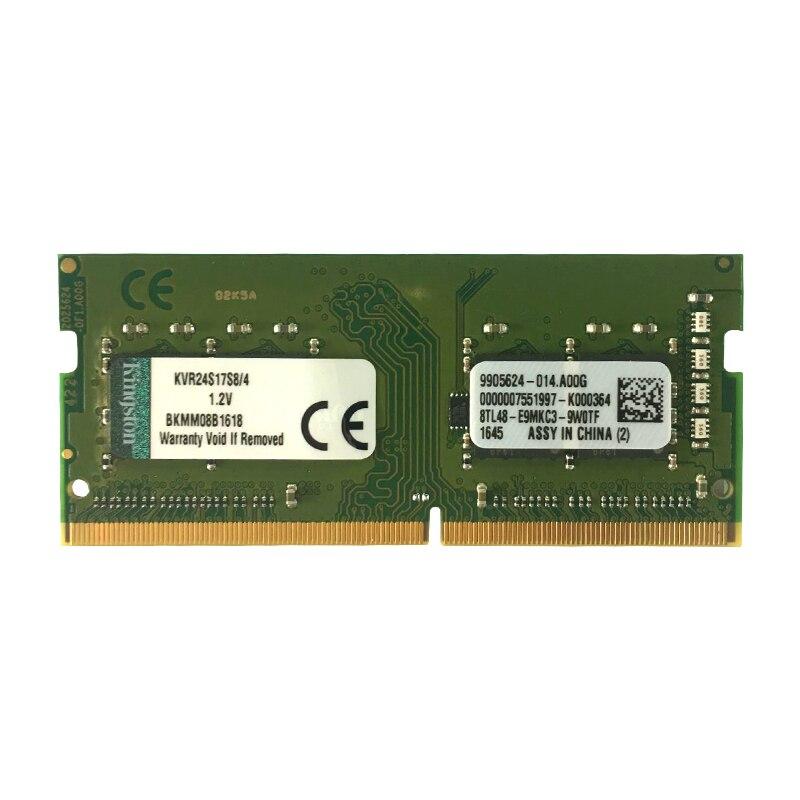 2400 MHz Kingston mémoire ram DDR4 8 GB 4 GB 16 GB 2400 Mhz Sodimm Mémoire Portable Interne Memoria Pour Ordinateur Portable PC 8 Gigaoctets Concerts