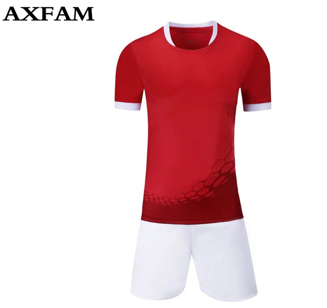 e93522658ac83 Nuevo diseño Para Hombre camisetas de Fútbol de Fútbol Entrenamiento de  Fútbol Establece Transpirable de secado