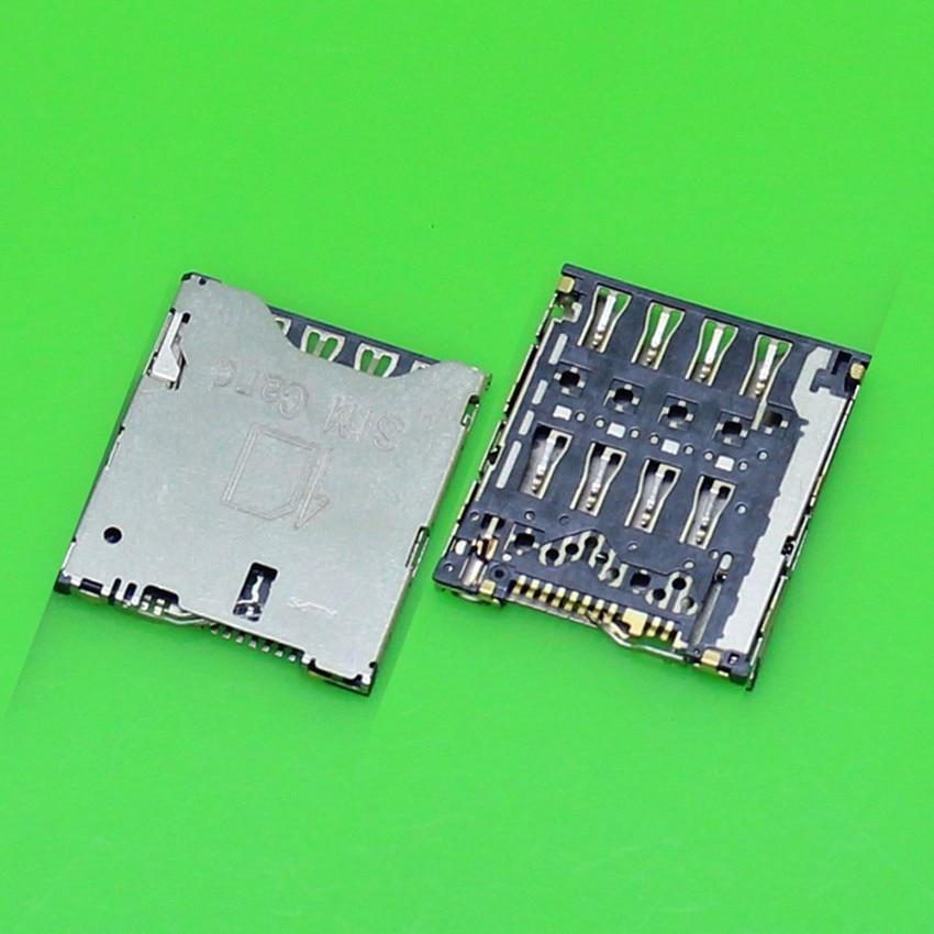 3pcs/Lot Brand New For Sony Xperia ZL LT35 L35H L35 Sim Card Reader Holder Tray Slot Socket