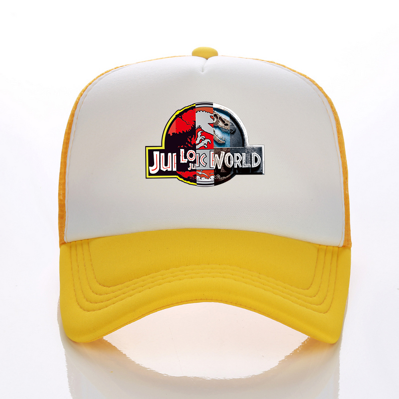 fe9ead7b1ce Detail Feedback Questions about Cool fashion Jurassic Park Baseball cap Men Women  2018 Snapback Hat Hip Hop Hat Jurassic World Summer Mesh Fall Free ...