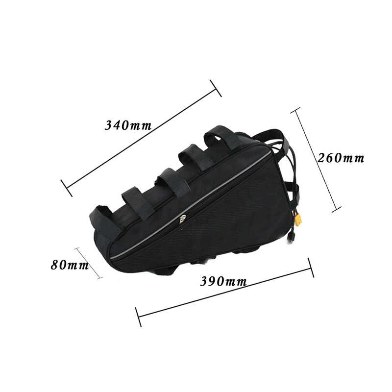 Free customs duty Triangle Bag 36 Volt 48V Electric Bike Battery 36V 15Ah 17.5ah 20Ah Ebike Lithium Ion Battery free Shipping
